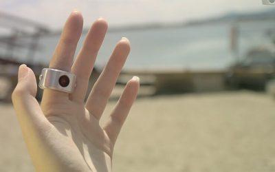 Gebogener Lithium Polymer Akkus LPCV160722 15mAh für Smart Ring