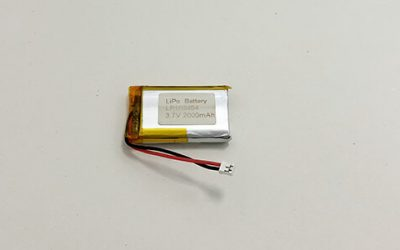 Wiederaufladbare Lithium Polymer Akkus — LP103454 3,7 V 2000 mAh