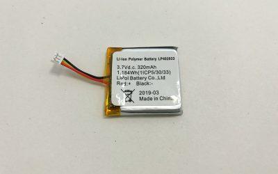 Heißer 3.7 V Li Polymer Akku LP402933 320 mAh 1.184 Wh