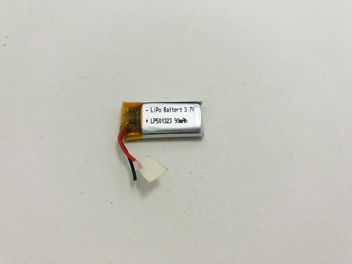 LP501323 3.7V 90mAh 0