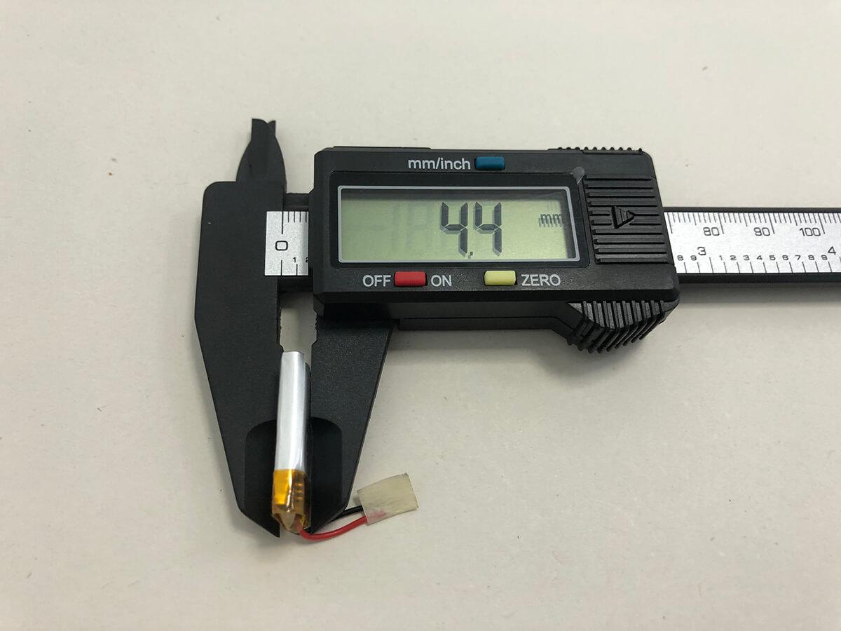 LP501323 3.7V 90mAh 3