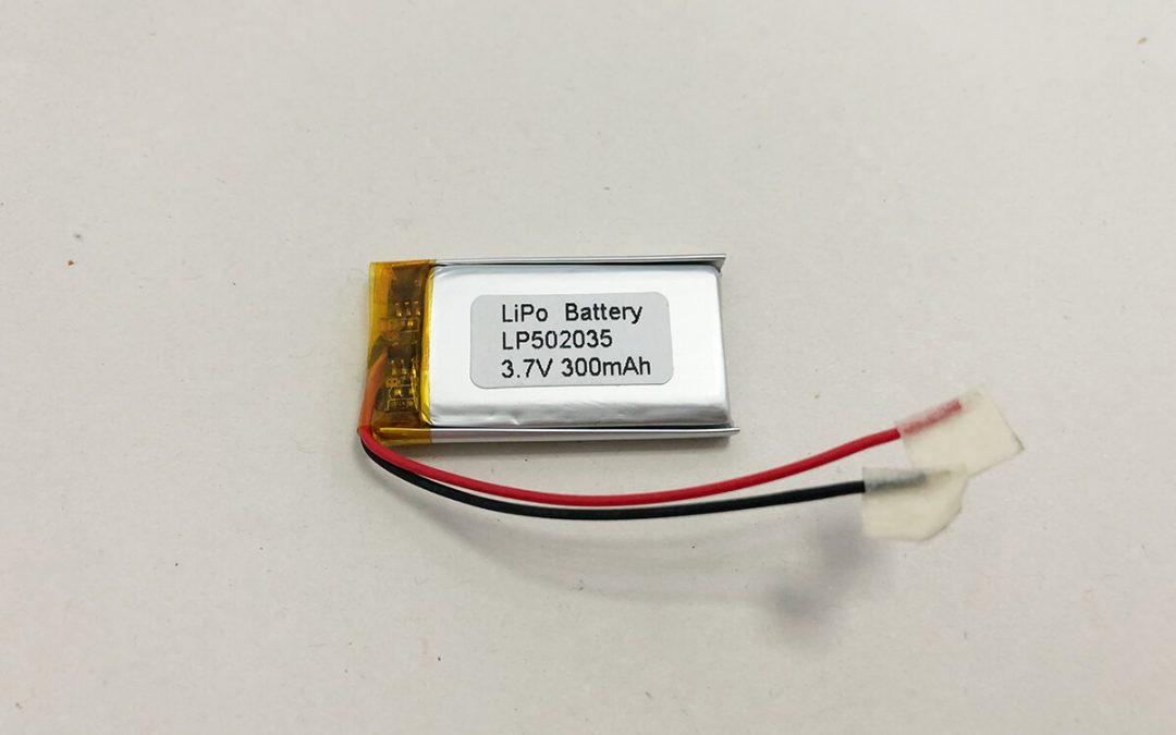LiPo Akku LP502035 3.7V 300mAh 1.11Wh