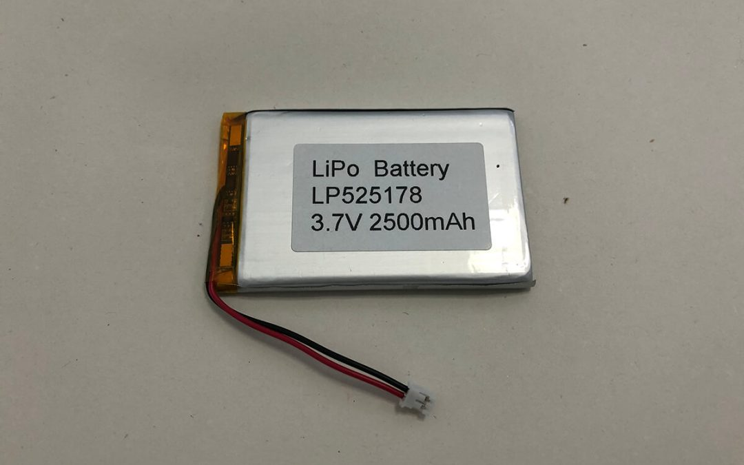 LP525178 3.7V 2500mAh 9.25Wh Li Poly Batterie