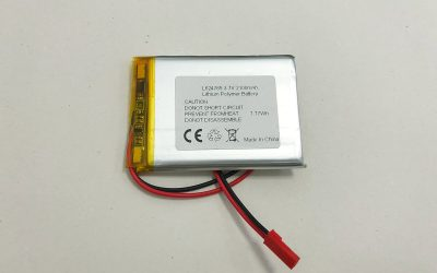 Lithium Polymer Akku LP624765 3.7V 2100mAh 7.77Wh