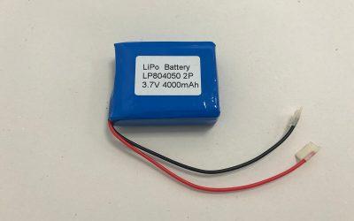 LiPo Akku Pack LP804050 2P 3.7V 4000mAh 14.8Wh