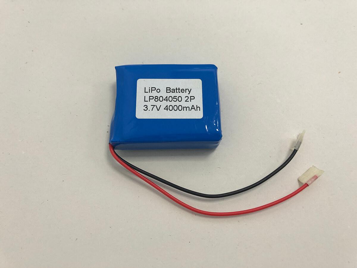 Lithium Polymer Akkus LP804050 2P 3.7V 4000mAh