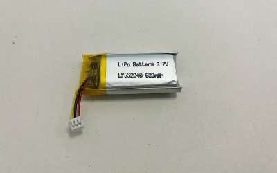 Polymer batterie LP852040 3.7V 620mAh 2.294Wh