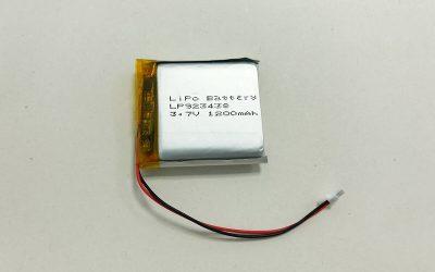 LiPo Akku LP923438 3.7V 1200mAh 4.44Wh