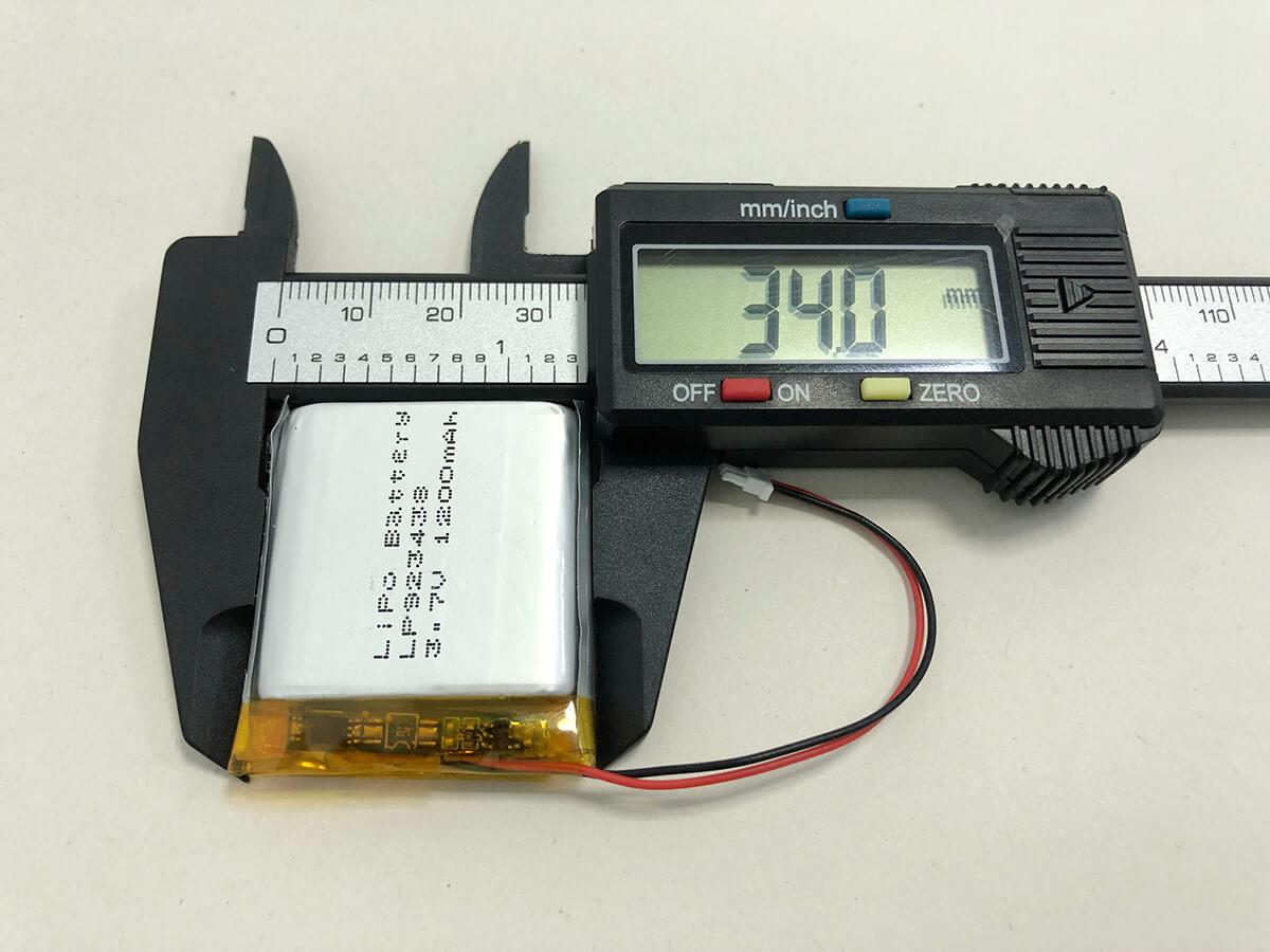 Lithium Polymer Akkus LP923438 3.7V 1200mAh