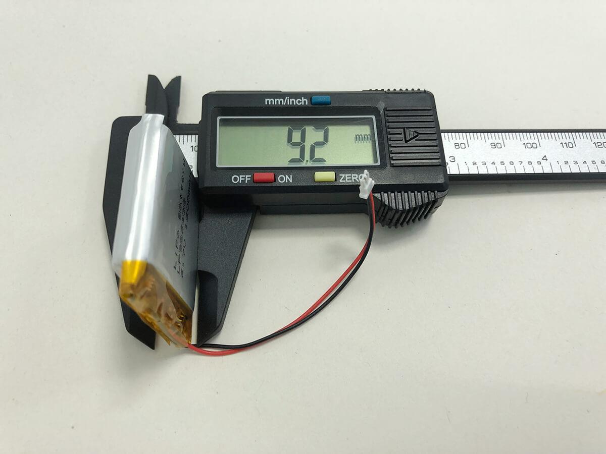 Lithium Polymer Akkus LP923438 3.7V 2000mAh