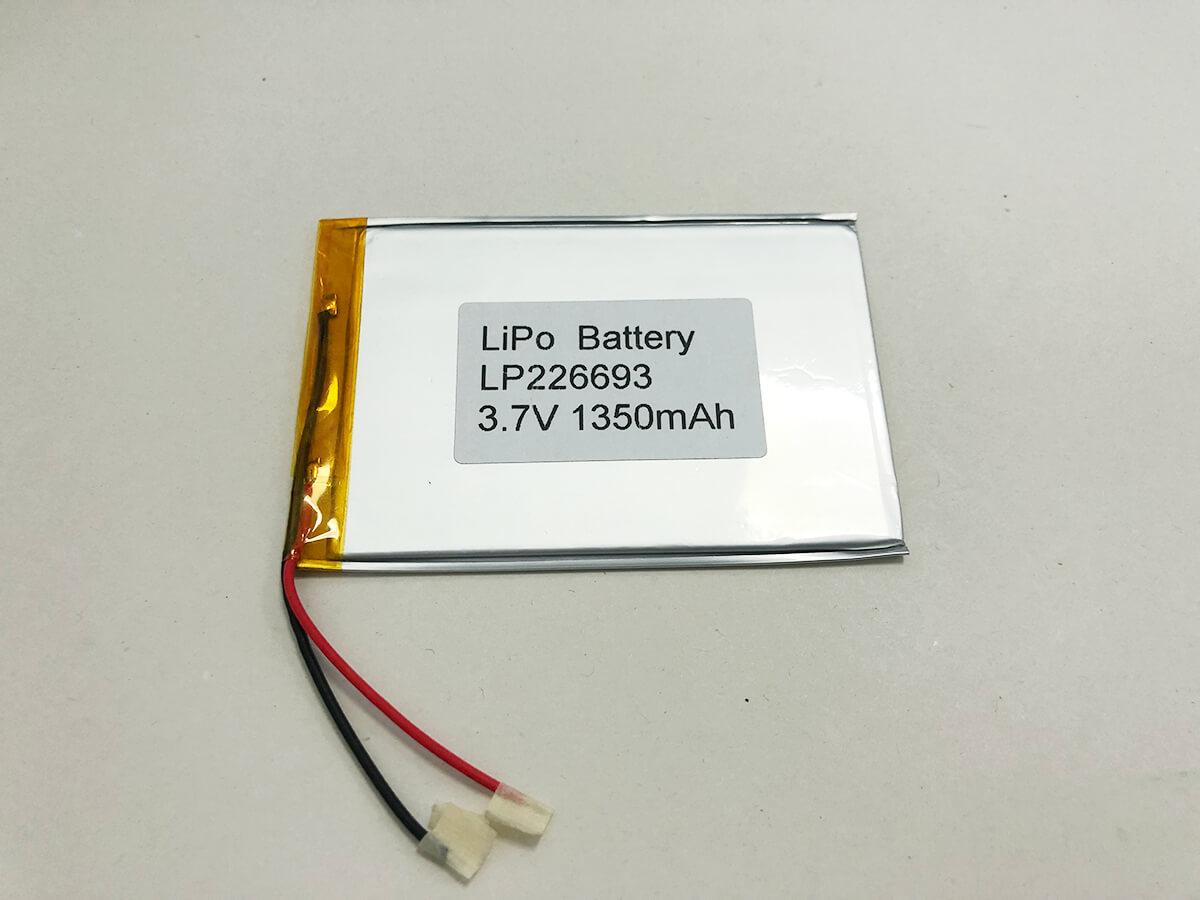 LP226693 3.7V 1350mAh 0