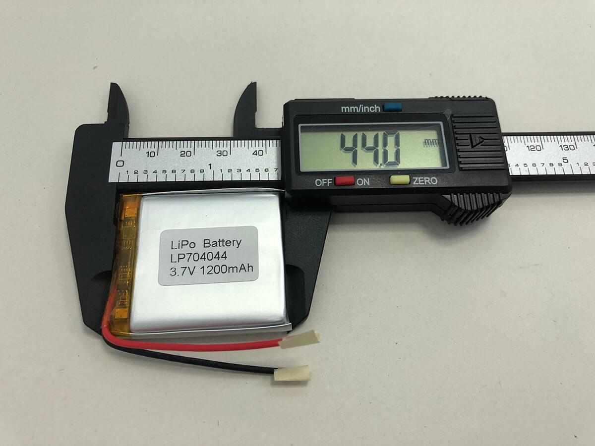 Lithium Polymer Akkus LP704044 3.7V 1200mAh