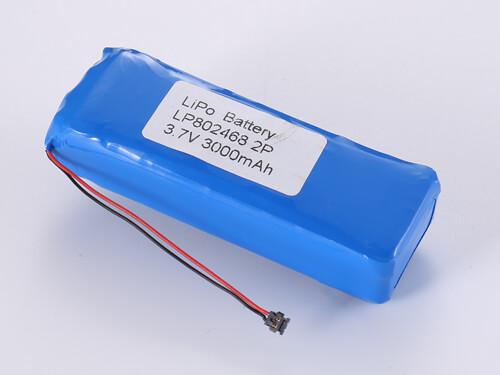 Lithium-Polymer-Akku-LP802468-2P