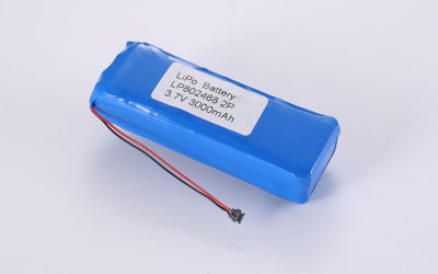 LiPo Akku Pack LP802468 2P 3.7V 3000mAh 11.1Wh mit PCM & Drähten & Molex 78172-0200