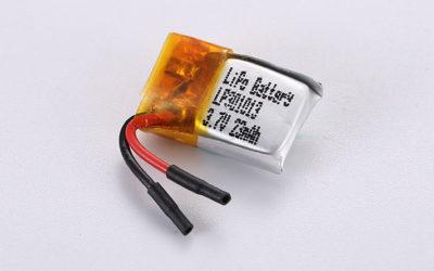 LiPo Akku LP301013 3.7V 23mAh 0.085Wh ohne Schutzschaltung, mit Drähten