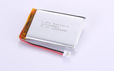 Li-Polymer Akku LP704060 3.7V 1800mAh 6.66Wh mit Schutzschaltung & Drähten 50mm und JST PHR-2