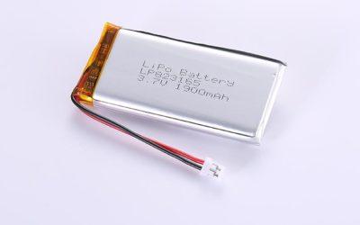 Li-Po Akku LP823165 3.7V 1900mAh 7.03Wh mit Schutzschaltung & Drähten 50mm und JST PHR-2
