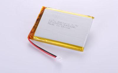 Li-Po Akku LP105878 3.7V 5400mAh 19.98Wh mit Schutzschaltung & Drähten 50mm