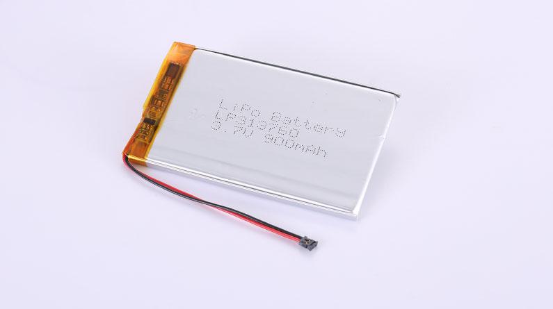 Lithium Polymer Akku LP313760 3.7V 900mAh 3.33Wh mit Schutzschaltung & Drähten 50mm und Molex 78172-0002