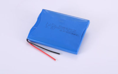 Lithium-Polymer-Akku LP395876 2P 3.7V 4400mAh 16.28Wh mit Schutzschaltung & Drähten 50mm