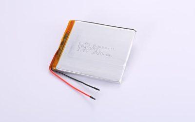 Li Polymer Akku LP435971 3.7V 3020mAh 11.17Wh mit Schutzschaltung & Drähten 50mm