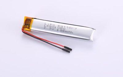 Li-Po Akku LP501050 3.7V 195mAh 0.72Wh mit Schutzschaltung & Drähten 30mm