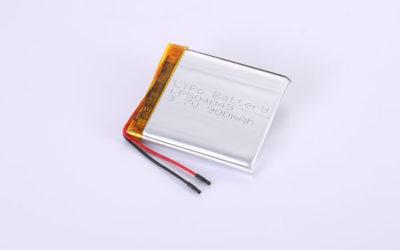 Li Polymer Akku LP504045 3.7V 900mAh 3.33Wh mit Schutzschaltung & Drähten 30mm
