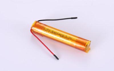 Lithium Polymer Akkus LPC11530 3.7V 550mAh 1.93Wh ohne Schutzschaltung, mit Drähten 30mm