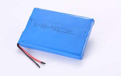 Lithium Polymer Akkus LP356393 3P 3.7V 8000mAh 29.6Wh mit Schutzschaltung & Drähten 50mm