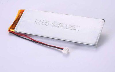 Lithium Polymer Akkus LPHD7045135 3.7V 5400mAh 19.98Wh mit Schutzschaltung & Drähten 90mm & AMP 179228-3
