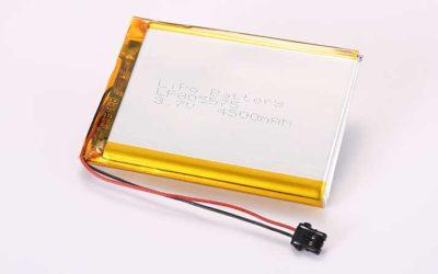 Lithium Polymer Akku LP805575 3.7V 4500mAh 16.65Wh mit Schutzschaltung & Drähten 30mm und Molex 2053410202