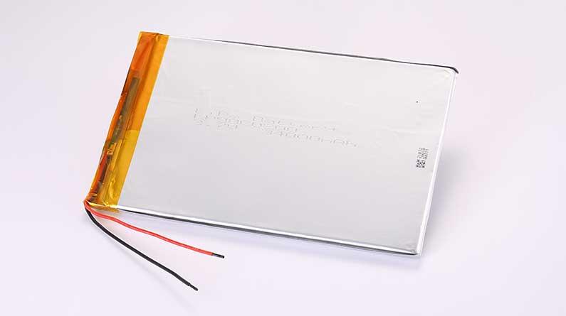 Lithium Polymer Akkus LP98C0200 3.7V 34000mAh 125.8Wh ohne Schutzschaltung, mit Drähten 100mm