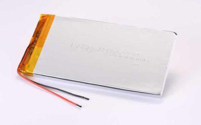 Lithium Polymer Akkus LPA695183 3.7V 22000mAh 81.4Wh mit Schutzschaltung & Drähten 100mm