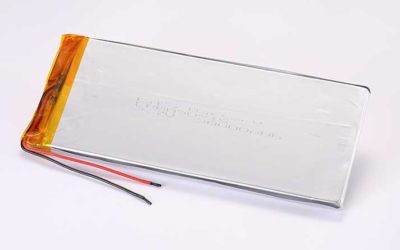 Lithium Polymer Akku LPB090215 3.7V 30000mAh 111Wh ohne Schutzschaltung, mit Drähten 30mm
